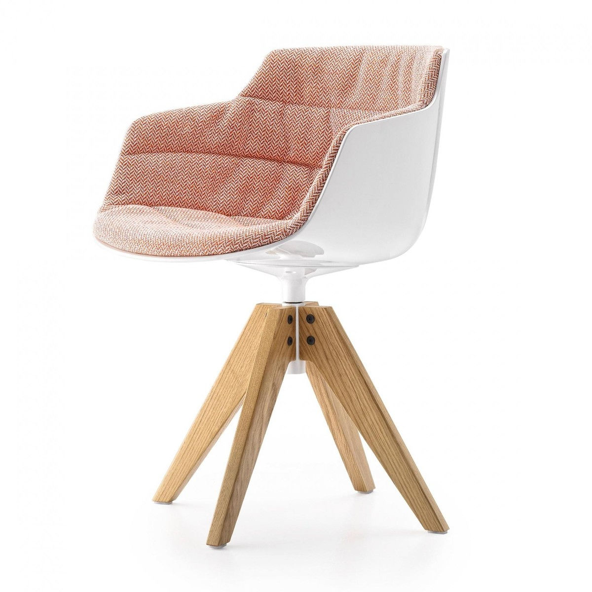 Flow Slim Armchair Upholstered New Edition 2 Mdf Italia