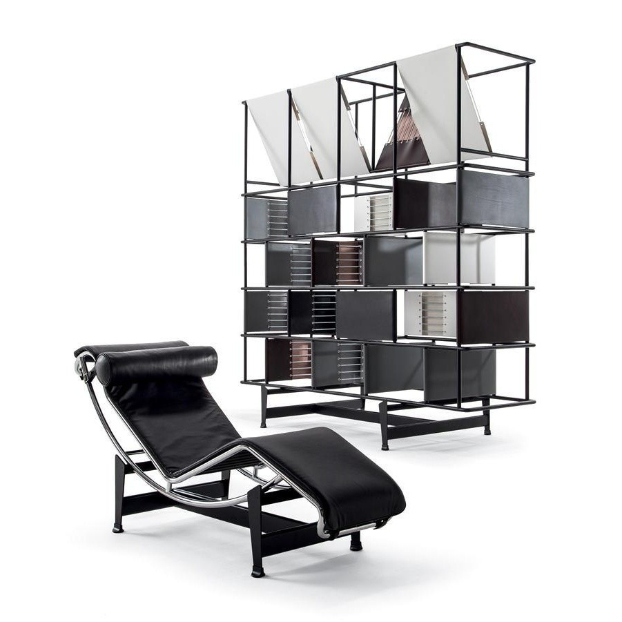 Le corbusier lc4 lounger cassina cassina for Chaise candie life