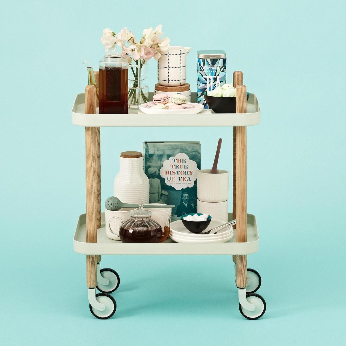 block beistelltisch servierwagen normann copenhagen. Black Bedroom Furniture Sets. Home Design Ideas