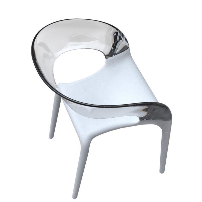 Ring chair armchair driade - Chaise philippe starck ...