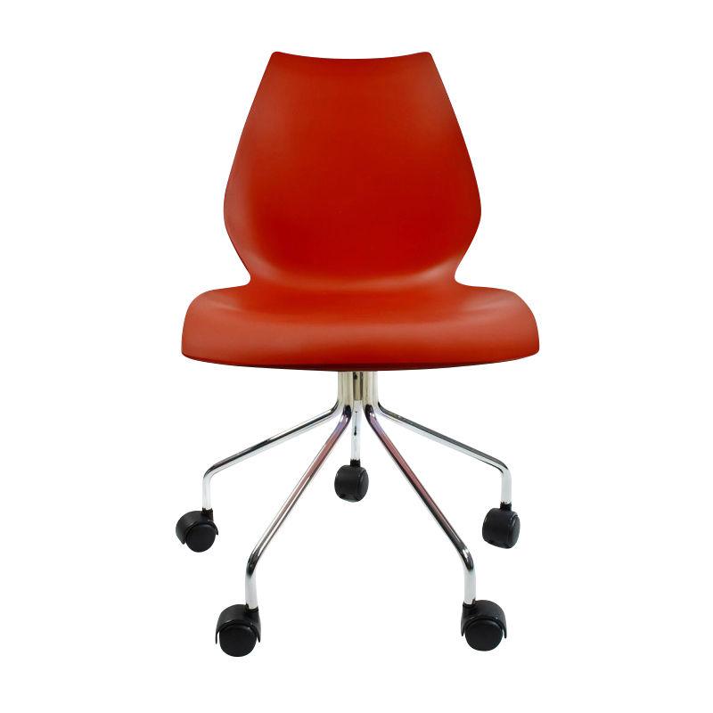 Maui chaise de bureau pivotante kartell - Chaise de bureau reglable en hauteur ...