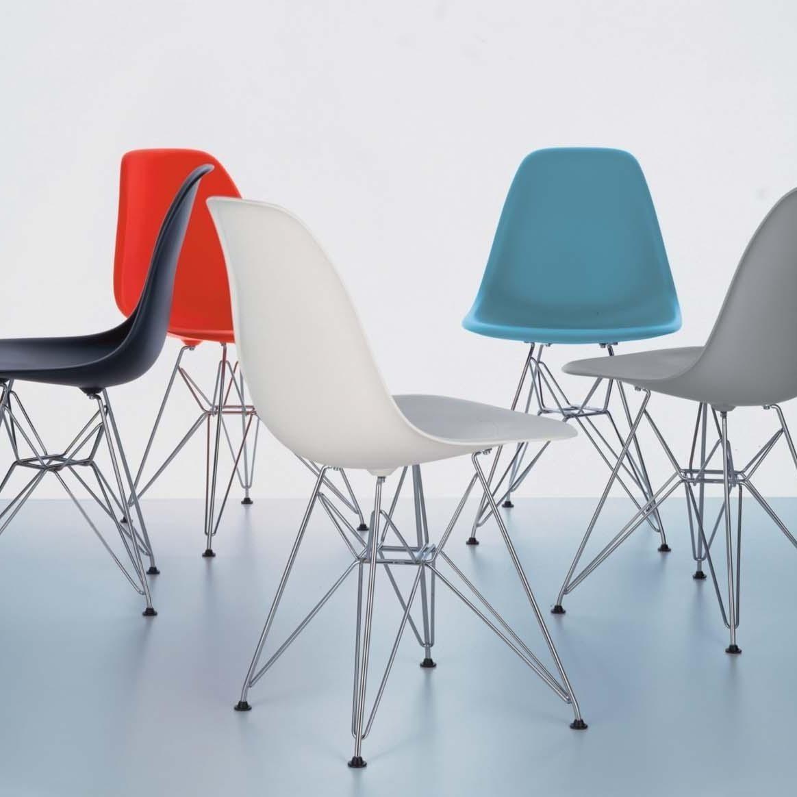 eames plastic side chair dsr stuhl h43cm vitra. Black Bedroom Furniture Sets. Home Design Ideas