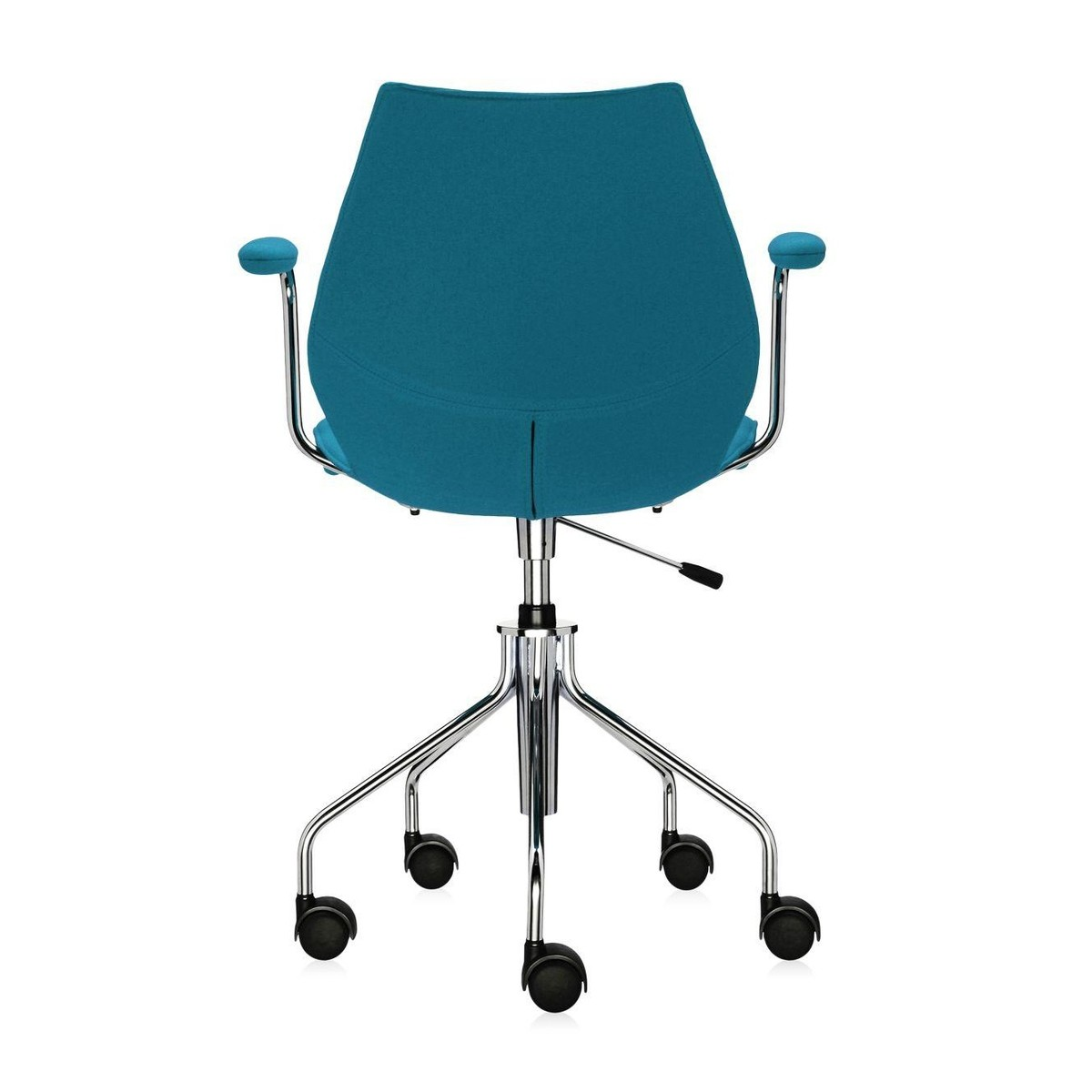 Maui soft office chair with armrests kartell for Chaise candie life