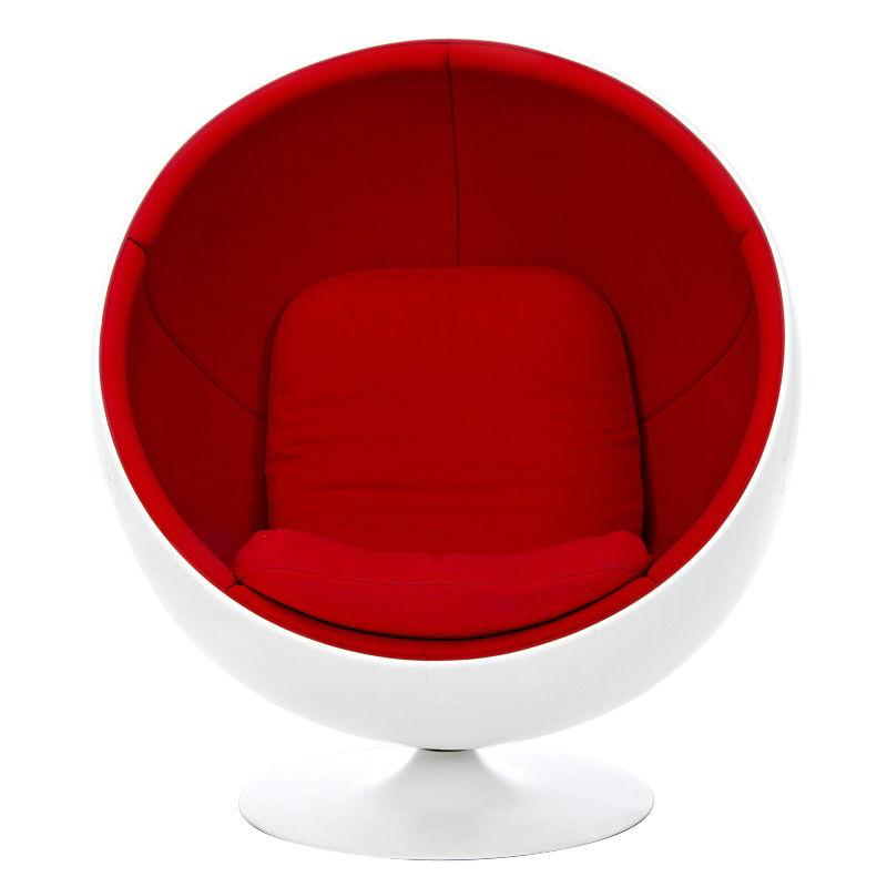 ball chair lounge sessel adelta. Black Bedroom Furniture Sets. Home Design Ideas