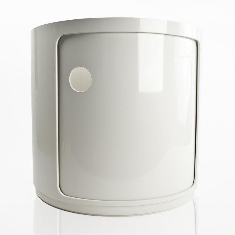 componibili 1 round modular elements kartell. Black Bedroom Furniture Sets. Home Design Ideas
