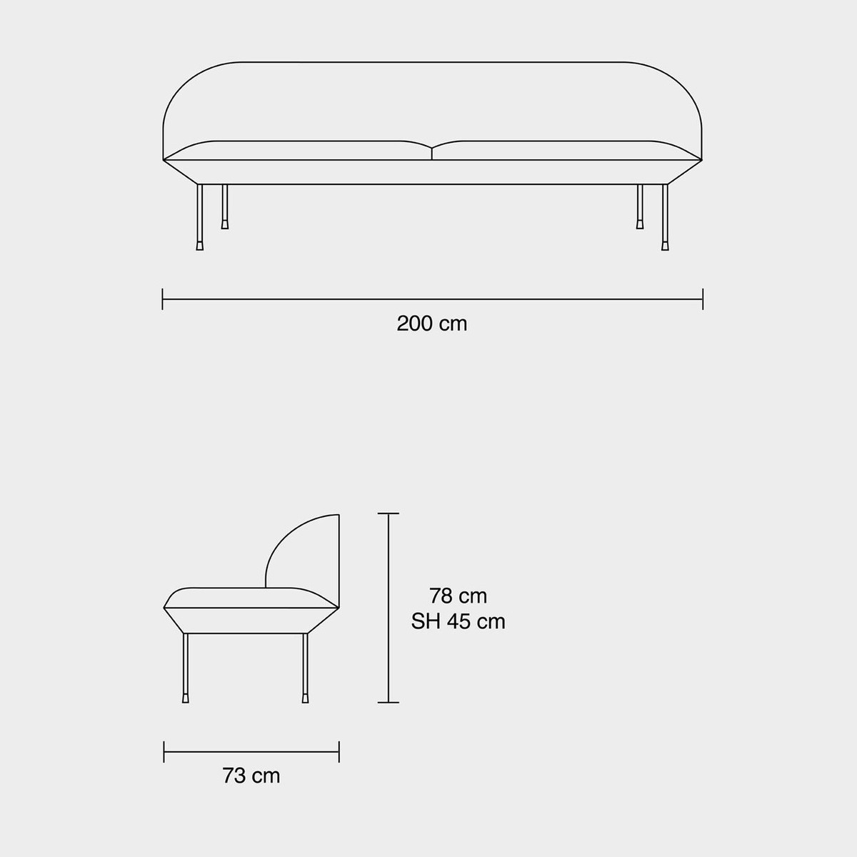 Pop Missoni Sofa Design Sofa Kartell 2 Or 3 Seats With: AmbienteDirect.com