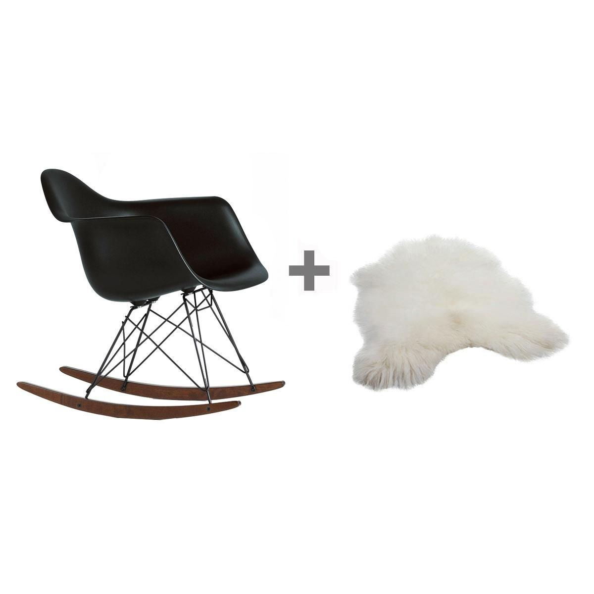 promotion set rar rocking chair fur vitra. Black Bedroom Furniture Sets. Home Design Ideas