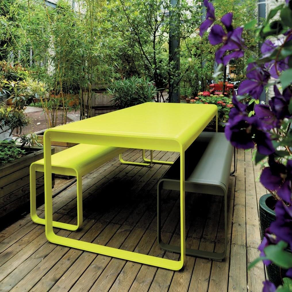 bellevie table de jardin fermob. Black Bedroom Furniture Sets. Home Design Ideas
