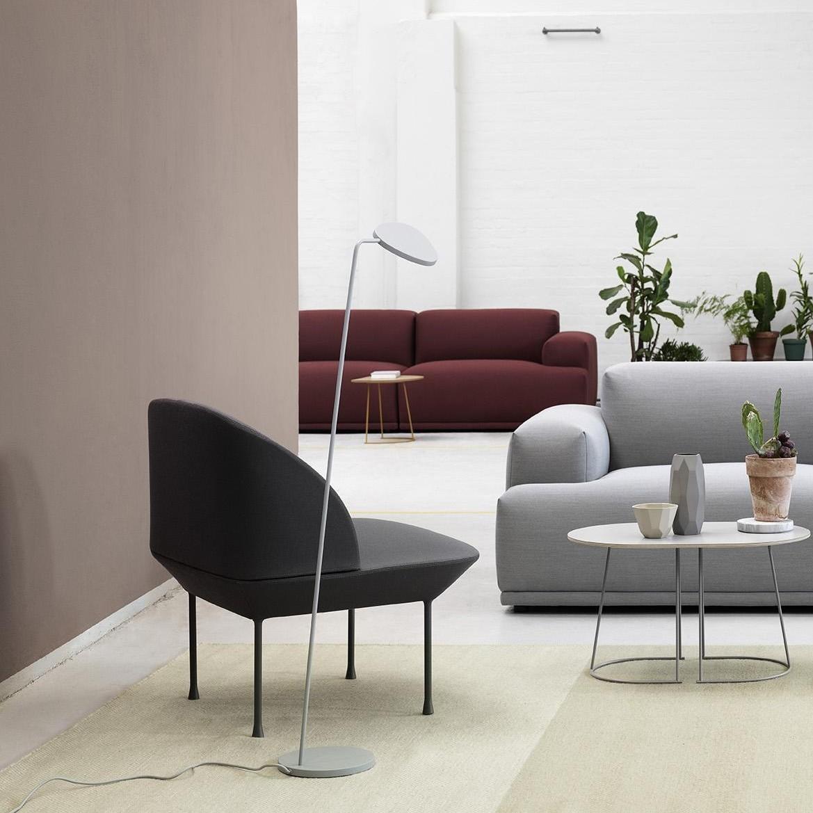 leaf led floor lamp muuto. Black Bedroom Furniture Sets. Home Design Ideas
