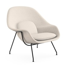 Knoll International - Womb Chair Relax Sessel Gestell schwarz