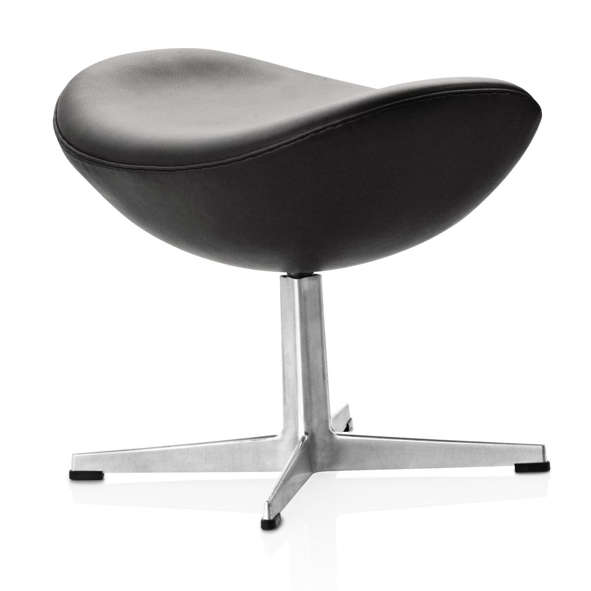 egg chair das ei fu hocker leder fritz hansen. Black Bedroom Furniture Sets. Home Design Ideas