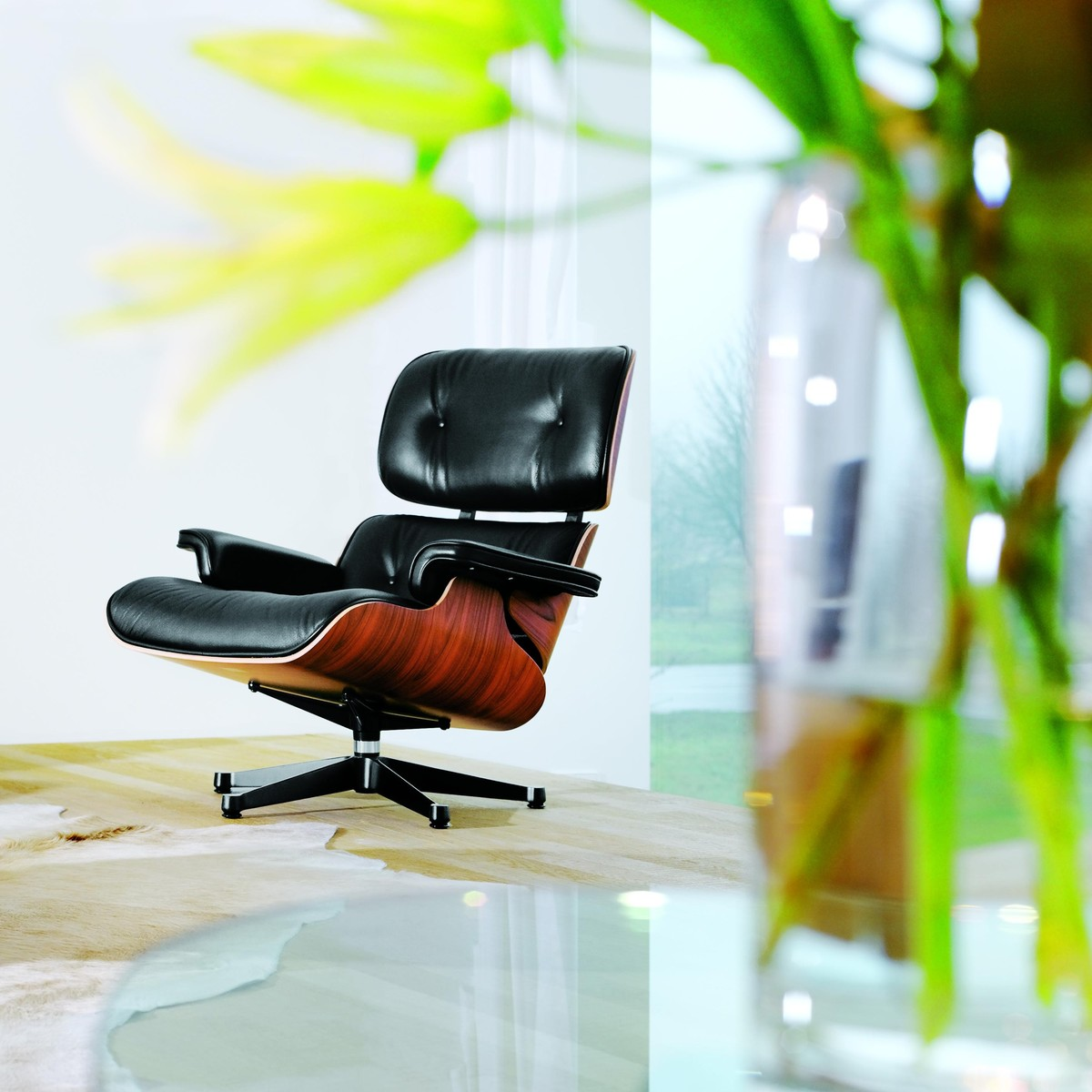 eames lounge chair xl new size ottoman vitra