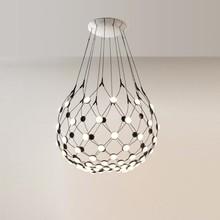 Luceplan - Mesh LED Pendelleuchte Ø80cm
