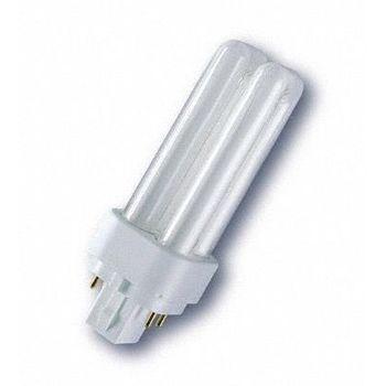 QualityLight - FLUO G24q-1 Kompakt 10W - opal/Glas/Energieeffizienzklasse b/Gewichteter Energieverbrauch 10 kW/1000 h