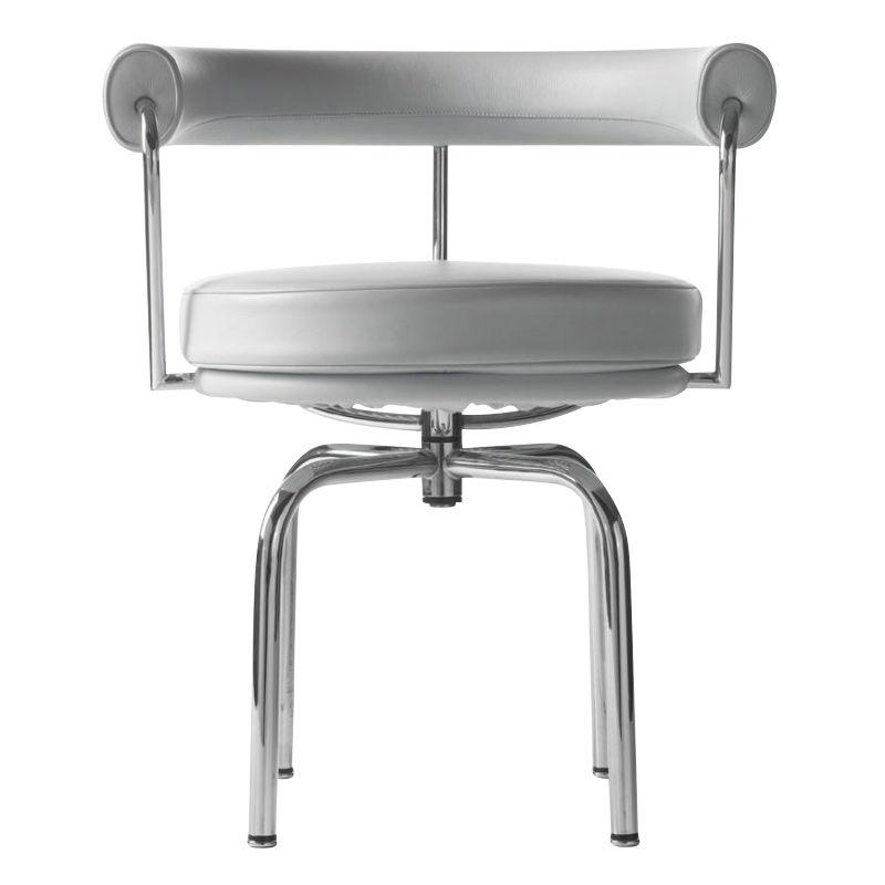 le corbusier lc7 fauteuil pivotant cassina chaises avec accoudoirs meubles d 39 assise. Black Bedroom Furniture Sets. Home Design Ideas