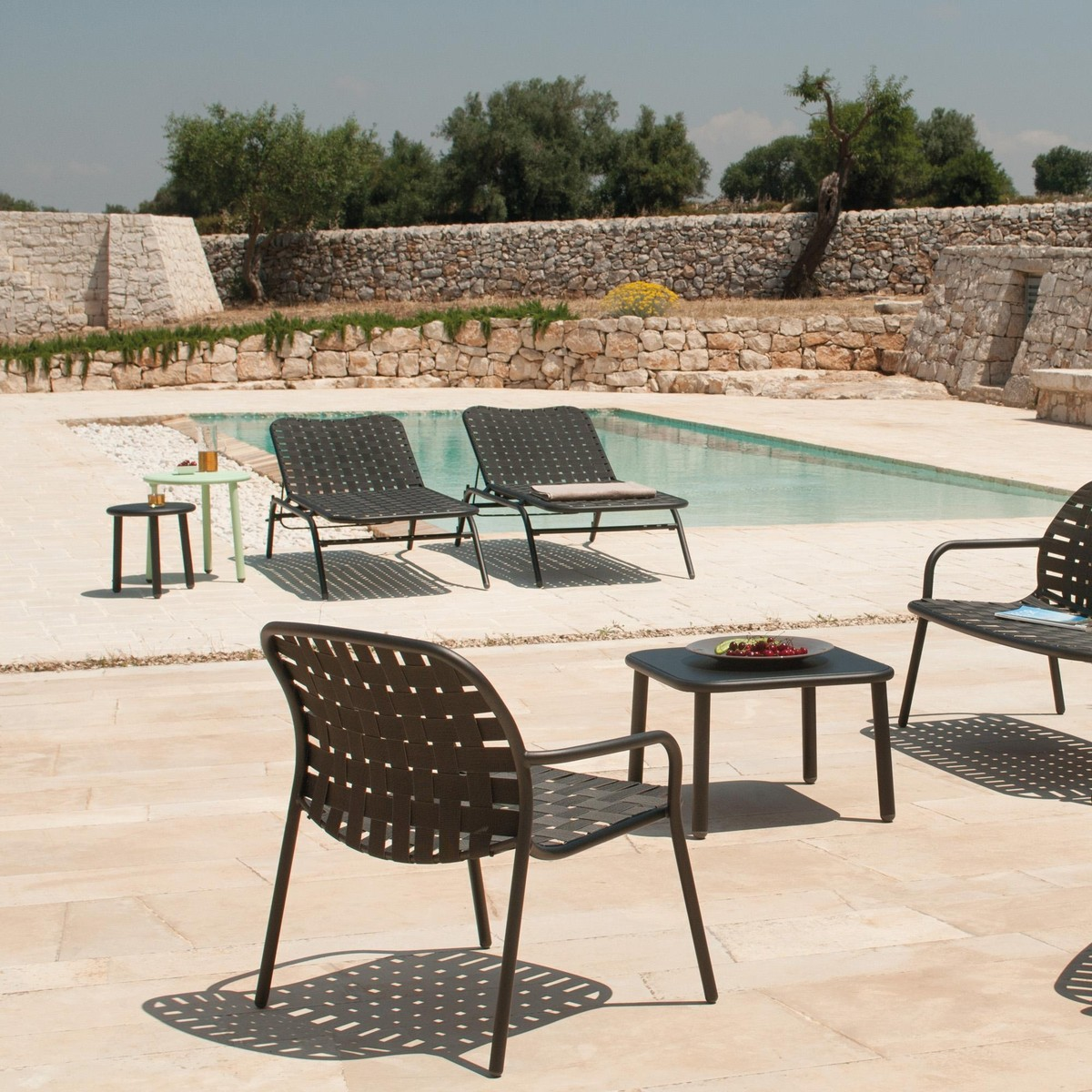 Yard Fauteuil Lounge De Jardin Emu