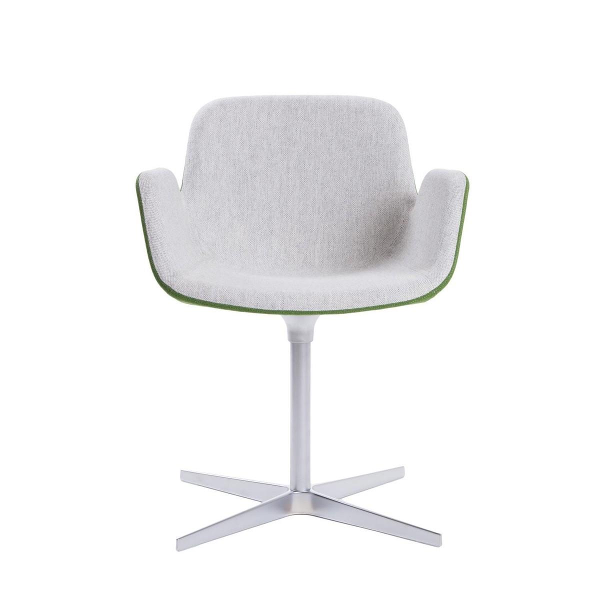 Pass chaise pivotante avec accoudoirs la palma for Chaise pivotante design
