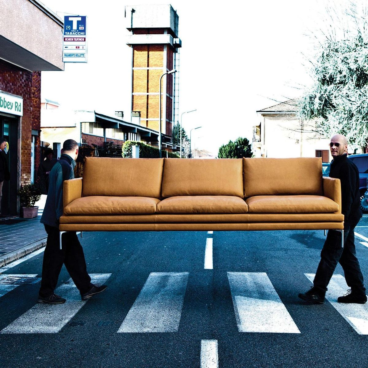 william canap 3 places zanotta. Black Bedroom Furniture Sets. Home Design Ideas