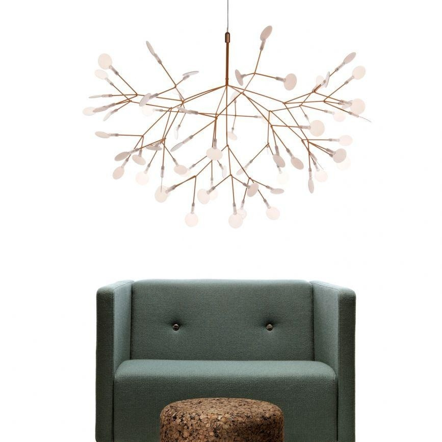 heracleum small lustre suspension lamp moooi. Black Bedroom Furniture Sets. Home Design Ideas