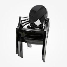 Kartell - Louis Ghost Armlehnstuhl 4er Set