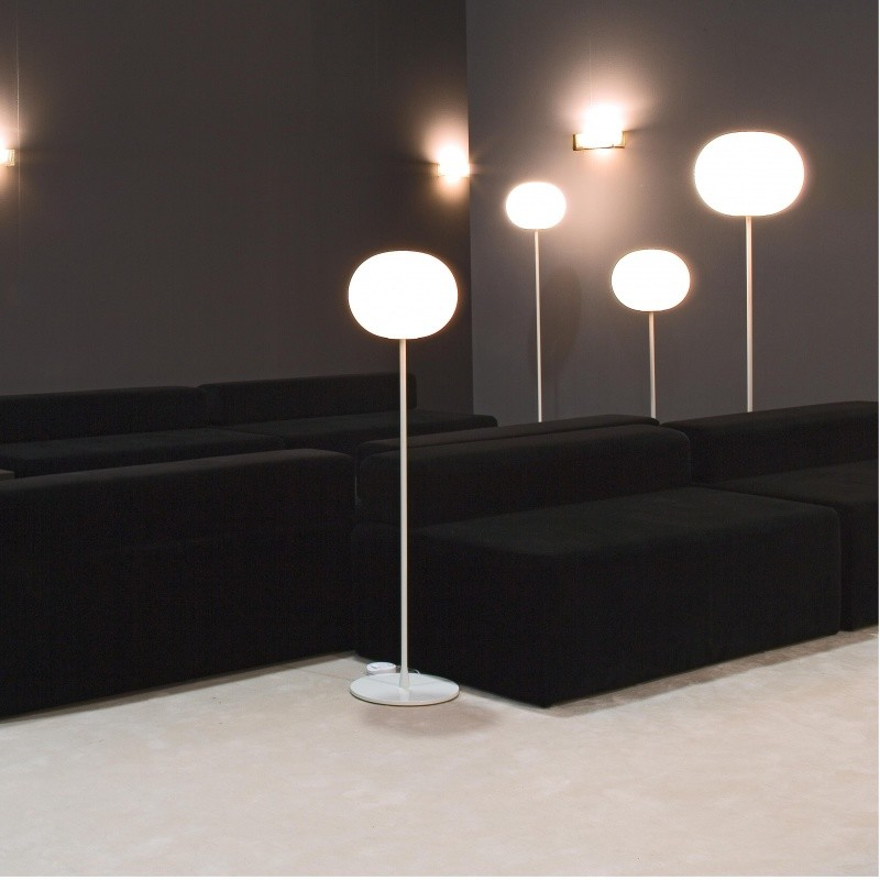 glo ball f2 lampadaire flos. Black Bedroom Furniture Sets. Home Design Ideas