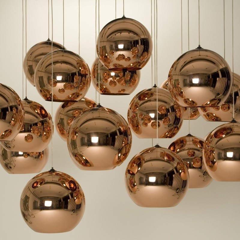copper shade suspension tom dixon. Black Bedroom Furniture Sets. Home Design Ideas