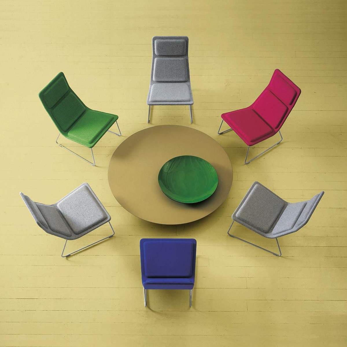 Low Pad Armchair Cappellini Ambientedirect Com