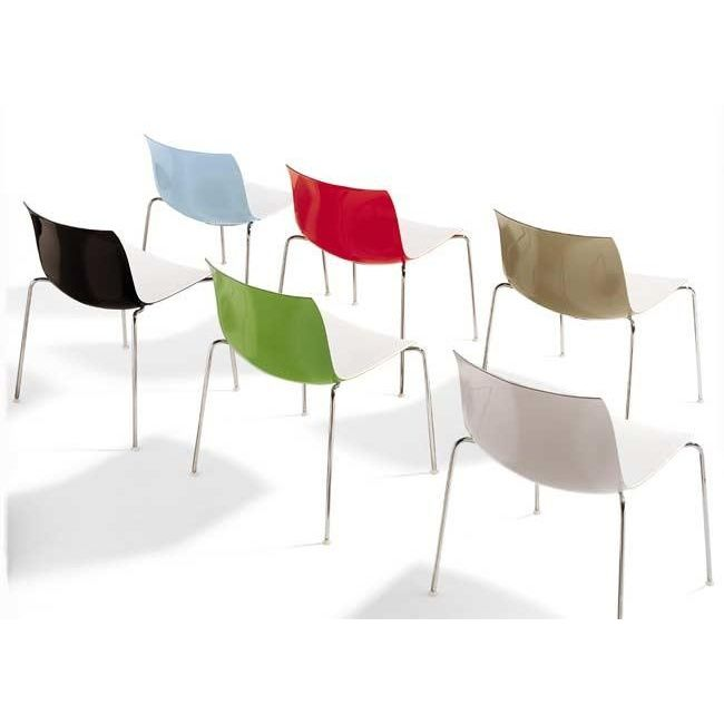 catifa 46 0251 stuhl zweifarbig arper. Black Bedroom Furniture Sets. Home Design Ideas