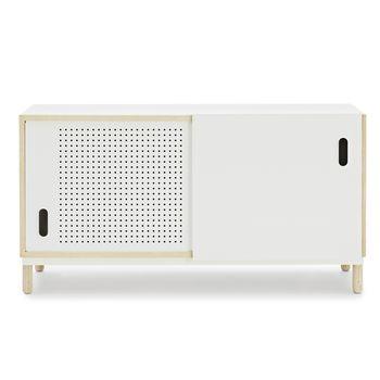 Normann - Kabino Sideboard - esche/weiß/114x61x42cm