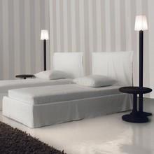 Gervasoni - Ghost 80.S Bett mit Husse 215x98cm
