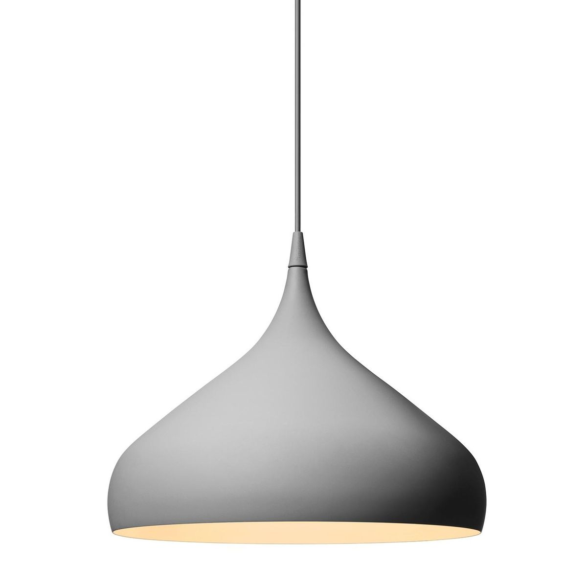 Spinning light bh2 suspension lamp andtradition for Suspension 4 lampes