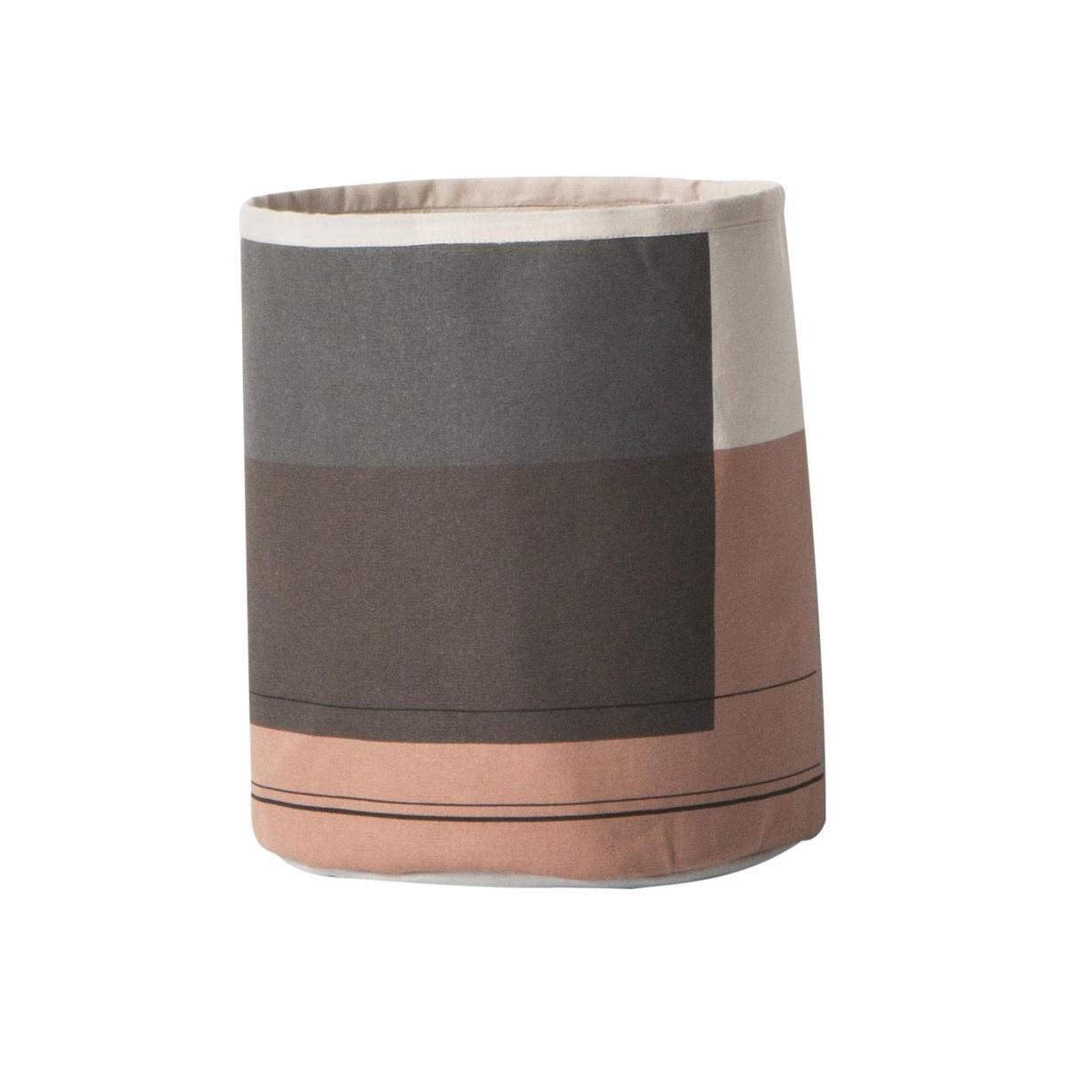 colour block basket ferm living. Black Bedroom Furniture Sets. Home Design Ideas