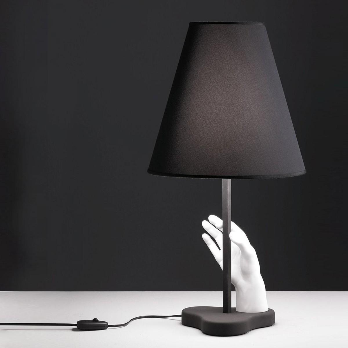 mano lampe du table fontana arte. Black Bedroom Furniture Sets. Home Design Ideas