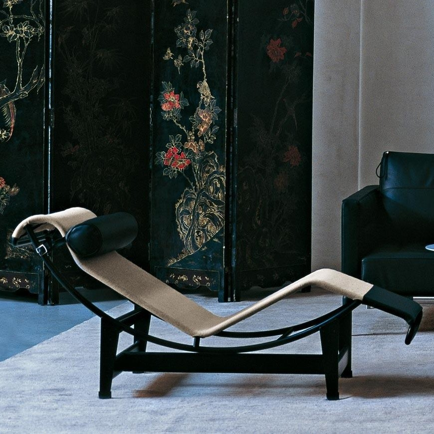le corbusier lc4 chaise longue style lounge cassina. Black Bedroom Furniture Sets. Home Design Ideas