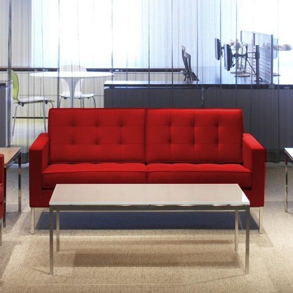 Florence knoll canap 2 places knoll international - Canape florence knoll ...