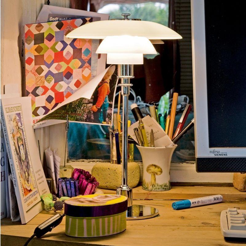 ph 2 1 lampe de table louis poulsen. Black Bedroom Furniture Sets. Home Design Ideas