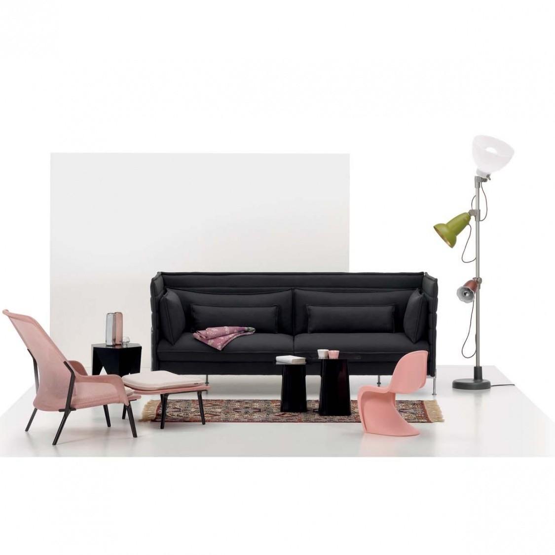 Slow chair lounge chair ottoman vitra for Vitra lounge chair nachbau