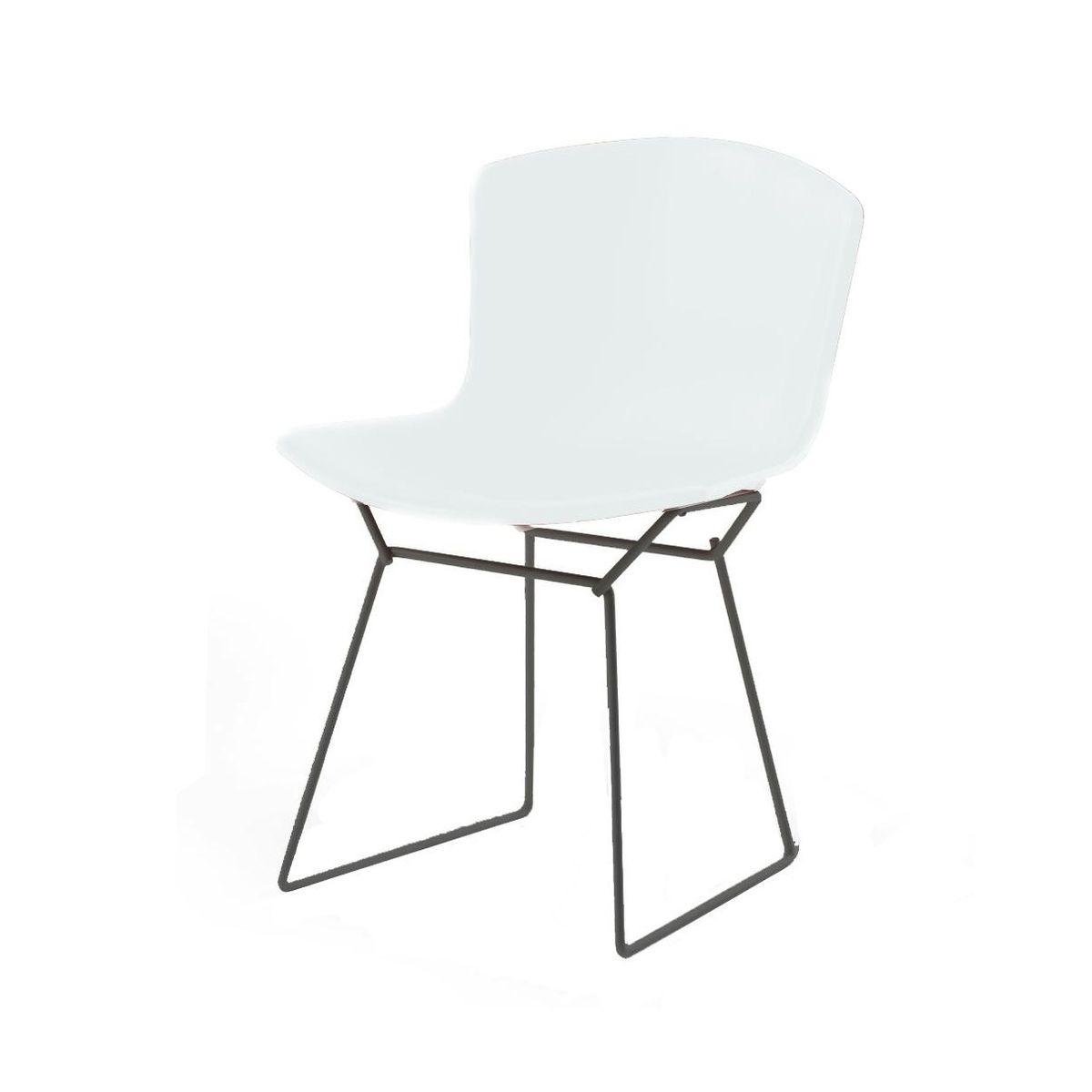bertoia plastic stuhl gestell schwarz knoll. Black Bedroom Furniture Sets. Home Design Ideas