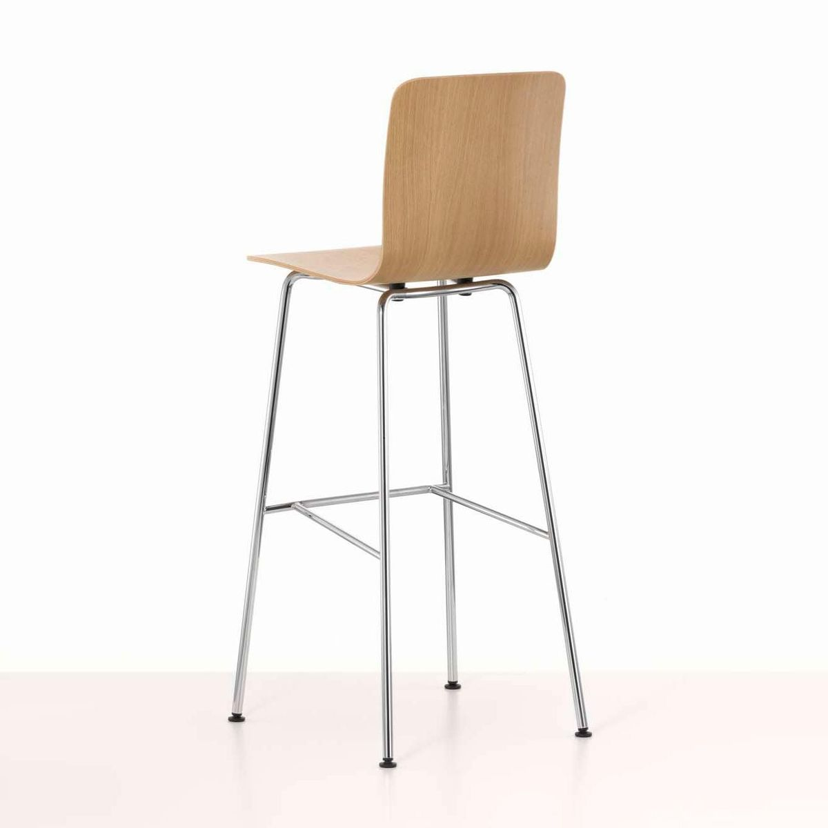 Hal ply stool high tabouret de bar vitra - Tabouret de bar chene ...