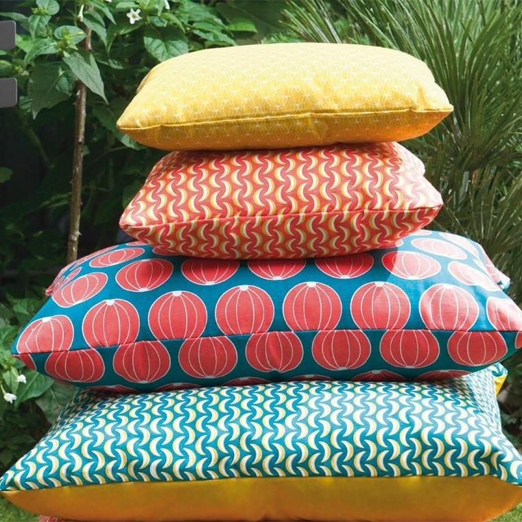 melons outdoor kissen 68x44cm fermob. Black Bedroom Furniture Sets. Home Design Ideas