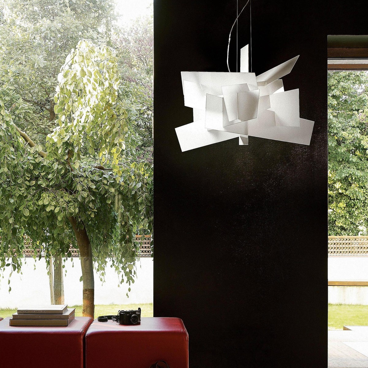 big bang led suspension lamp foscarini. Black Bedroom Furniture Sets. Home Design Ideas