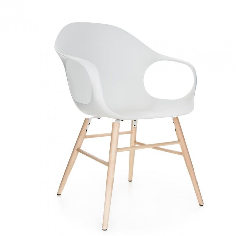 elephant armlehnstuhl mit holzgestell kristalia. Black Bedroom Furniture Sets. Home Design Ideas