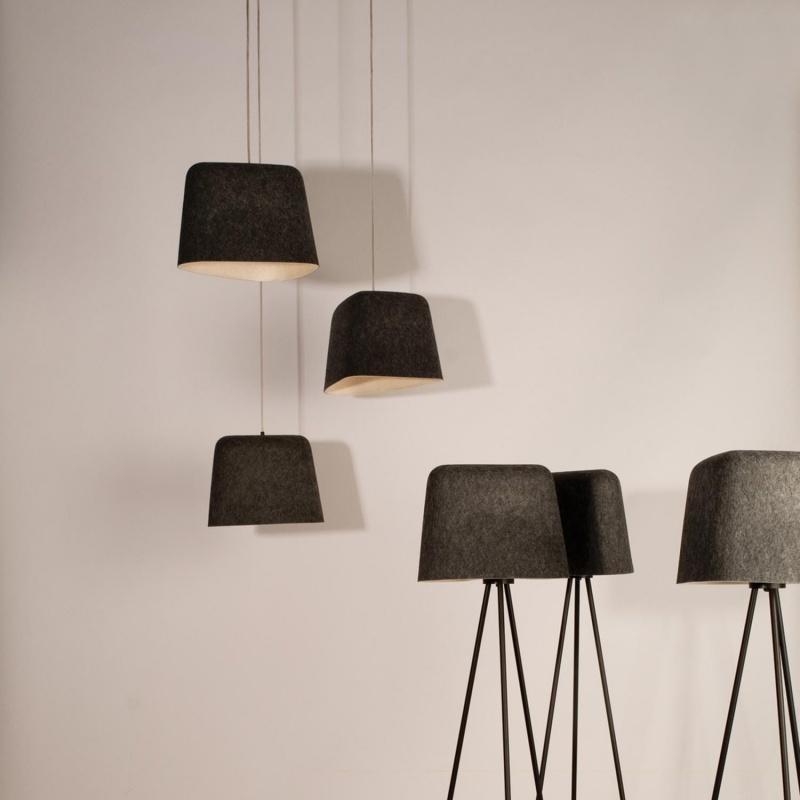 Felt Shade Floor Lamp Tom Dixon Ambientedirect Com