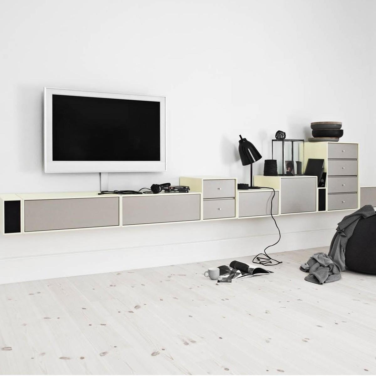 montana tv hi fi lowboard montana. Black Bedroom Furniture Sets. Home Design Ideas