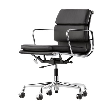 ea 217 soft pad eames alu chair office chair vitra. Black Bedroom Furniture Sets. Home Design Ideas