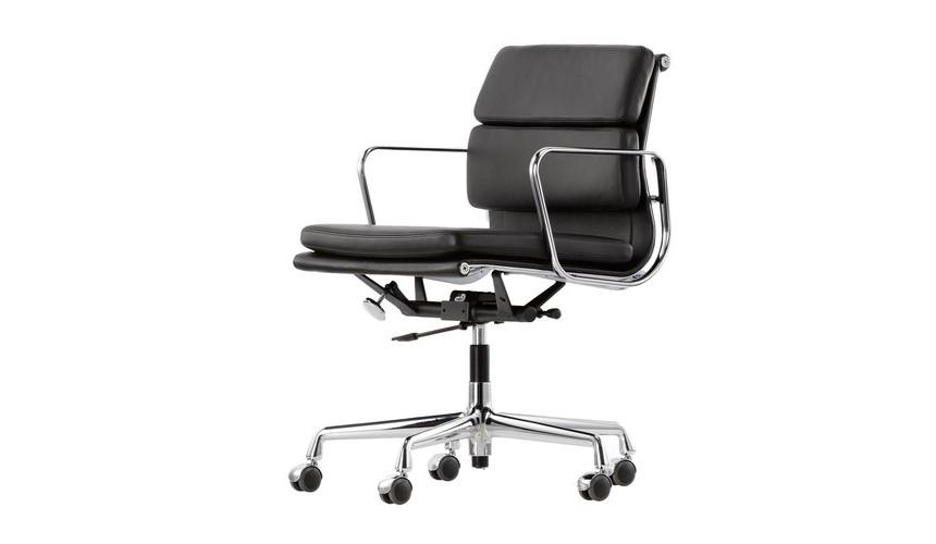 Ea 217 soft pad eames chair chaise de bureau vitra for Chaise de bureau vitra prix