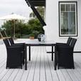 Skagerak - St. Thomas-Set Gartentisch + 4 Stühle