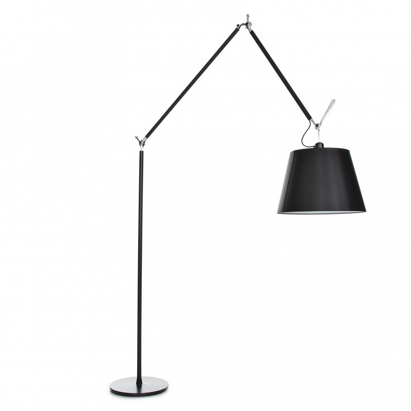 tolomeo mega terra black dimmer floor lamp artemide. Black Bedroom Furniture Sets. Home Design Ideas