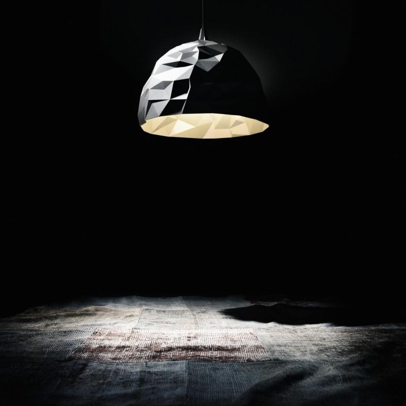 Rock suspension lamp diesel for Rock lamp